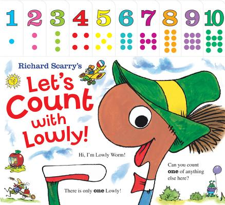 Richard Scarry's Let's Count With Lowly By Scarry, Richard
